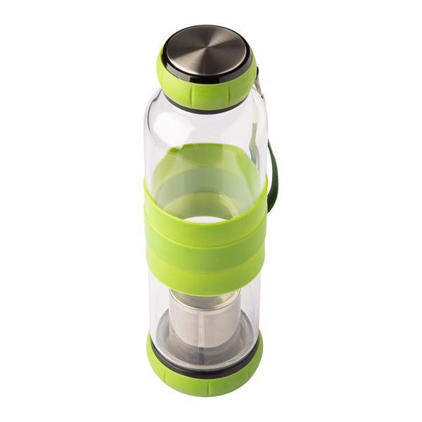 Szklana butelka z zaparzaczem do herbaty Sulmona 550 ml