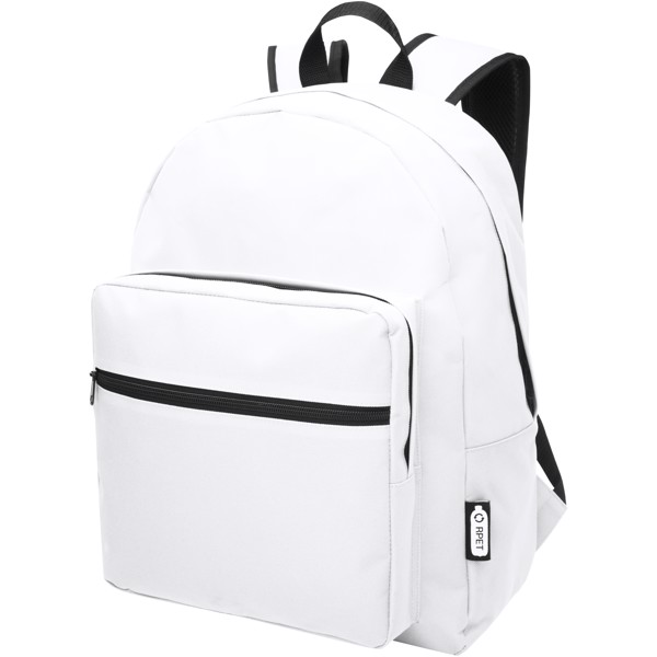 Retrend RPET backpack - White