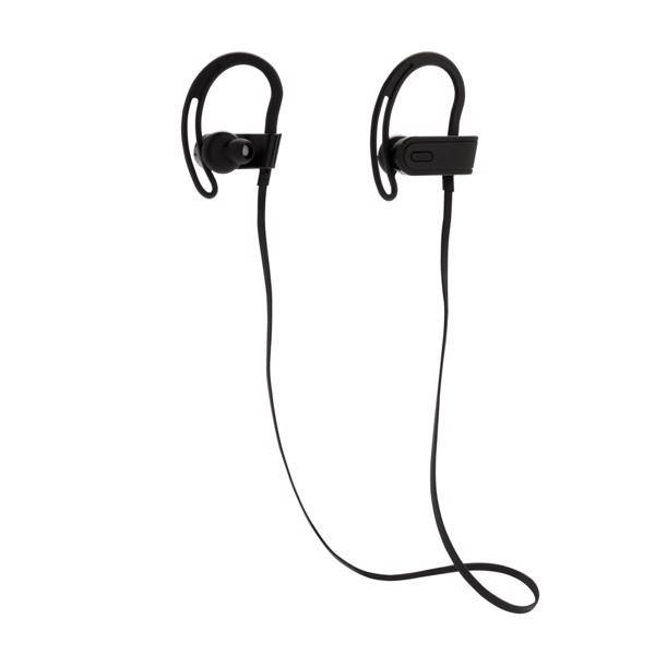 Auriculares inalámbricos deportivos - Negro