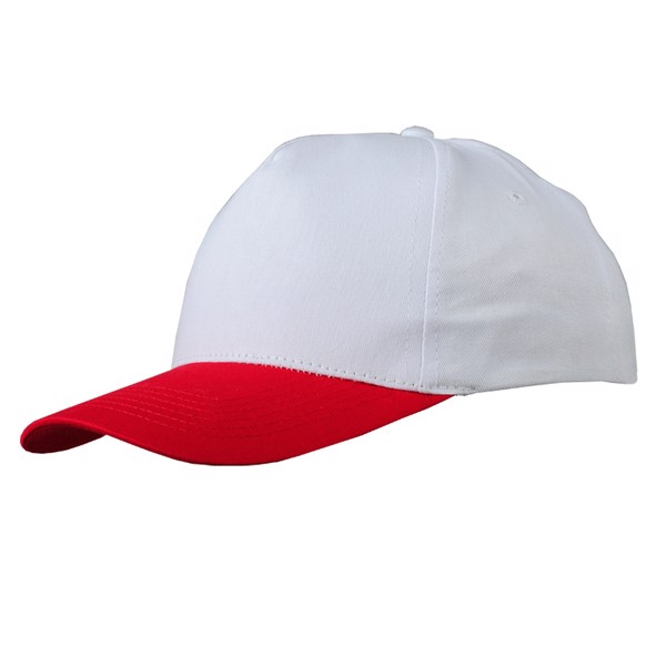 Czapka dziecięca Daily - Biało-Czerwony