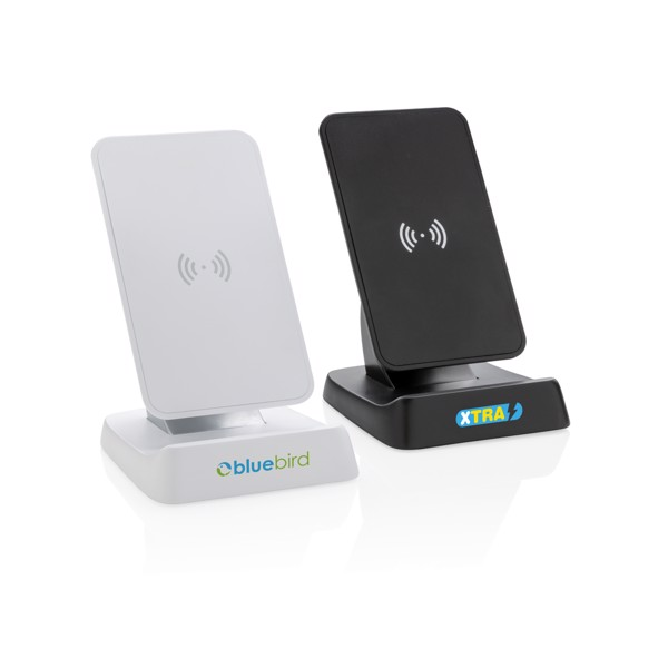 10W Wireless fast charging stand - White