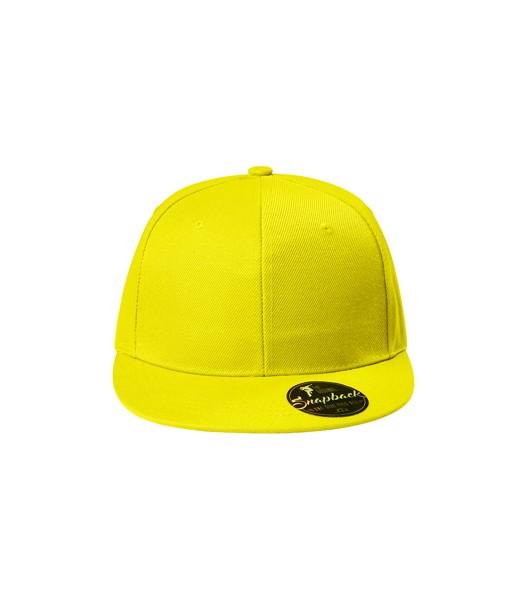 Čepice unisex Malfini Rap 6P - Citronová / nastavitelná