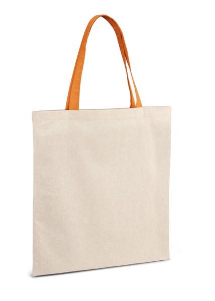 KOLONAKI. Bolsa de algodón 100% - Naranja