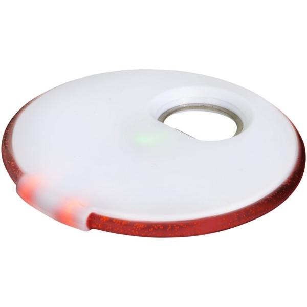 LED podložka Beau s otvírákem - Bílá