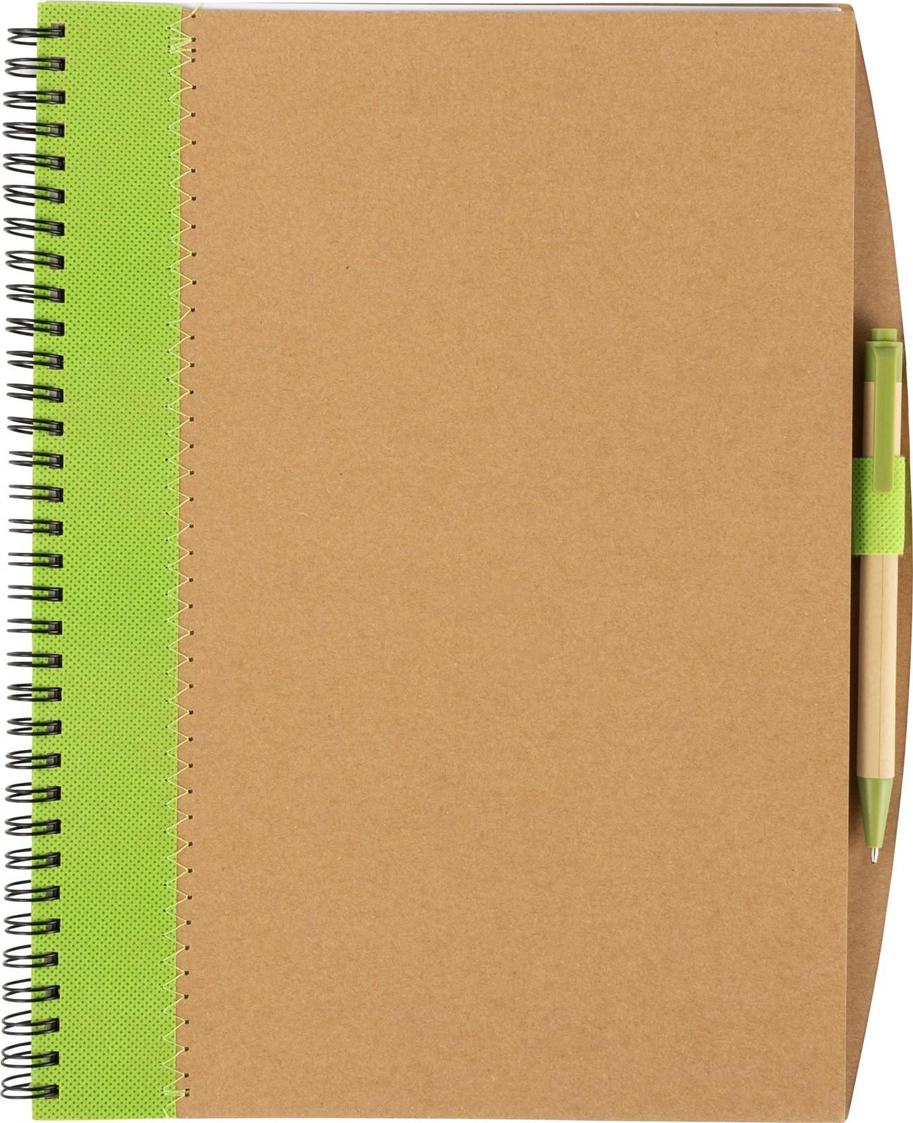 Cuaderno de cartón - Lime