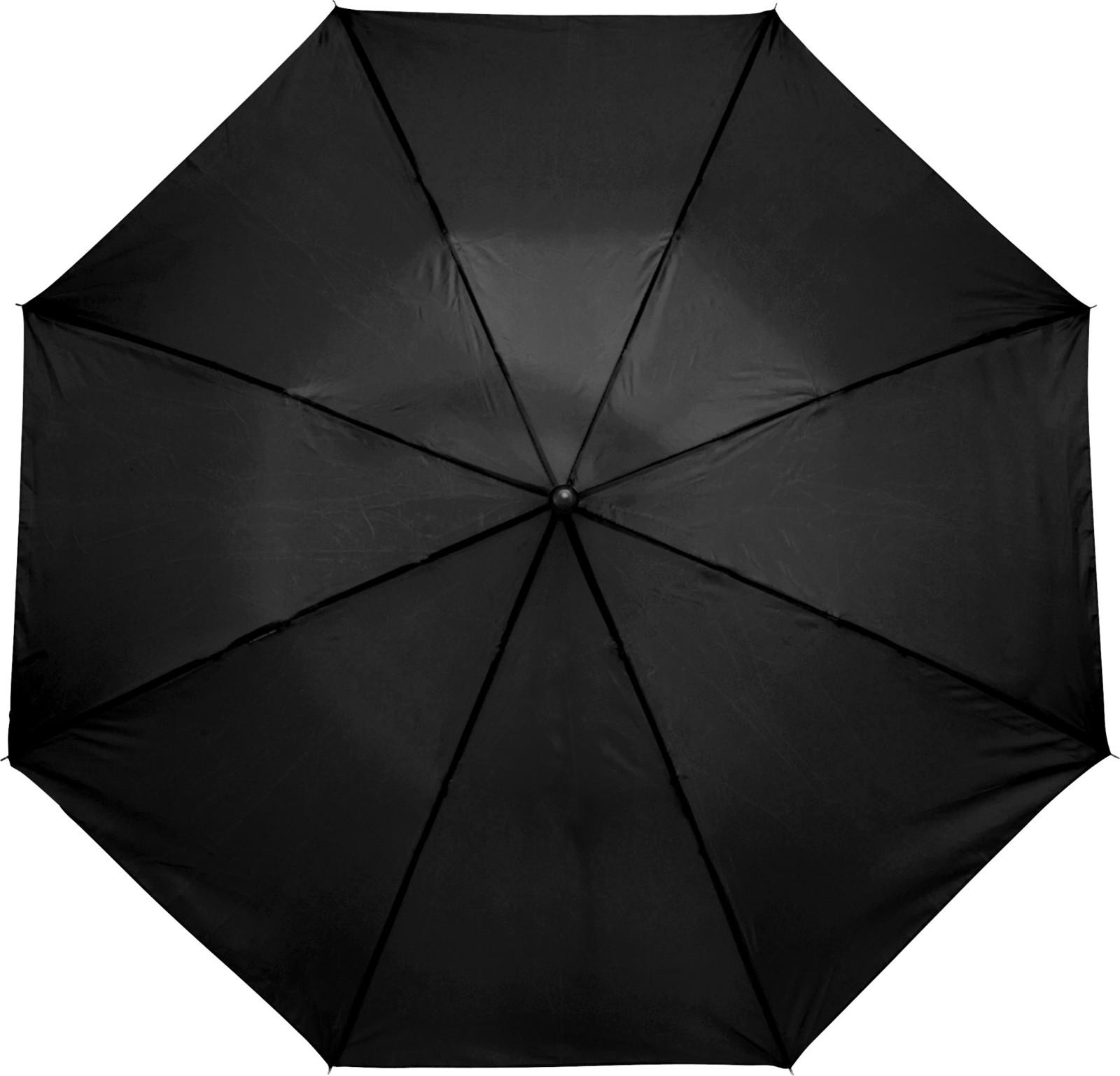 Polyester (190T) umbrella - Black