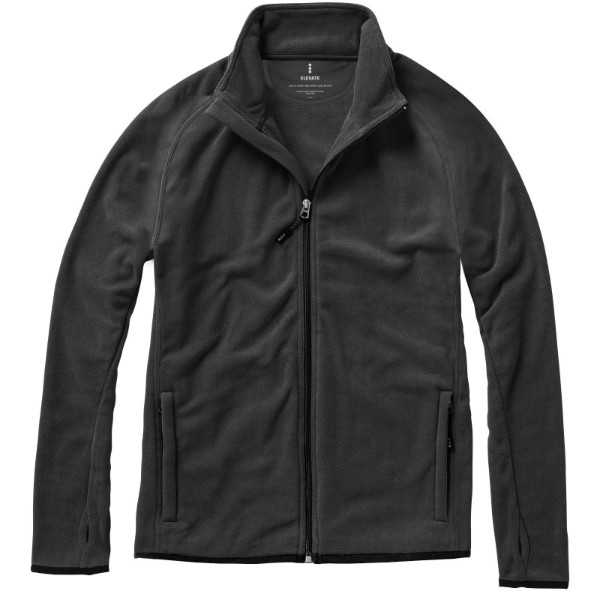 Brossard micro fleece full zip jacket - Anthracite / S