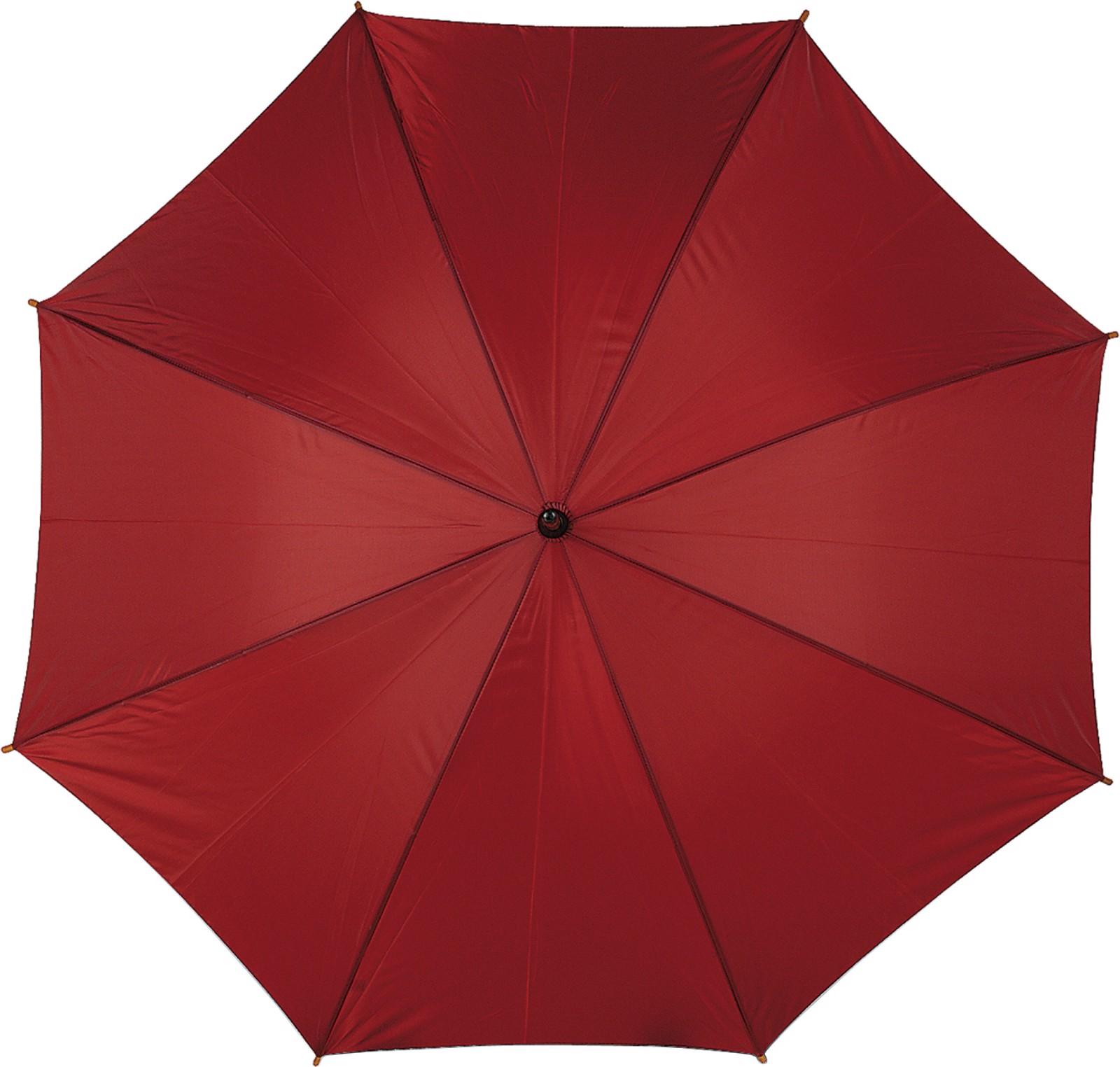 Polyester (190T) umbrella - Burgundy