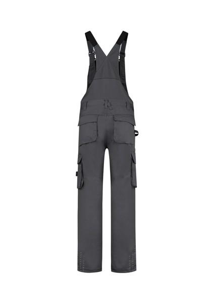 Pracovní kalhoty s laclem unisex Tricorp Bib & Brace Twill Cordura - Tmavě Šedá / 52