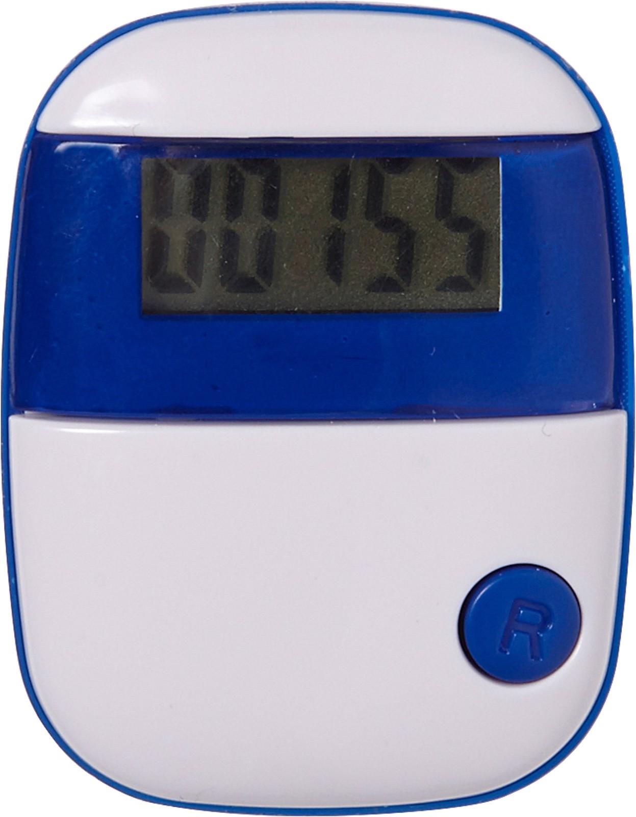ABS pedometer - Cobalt Blue