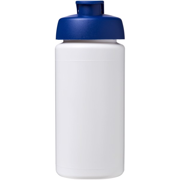 Sportovní láhev s vyklápěcím víčkem Baseline® Plus grip 500 ml - Modrá