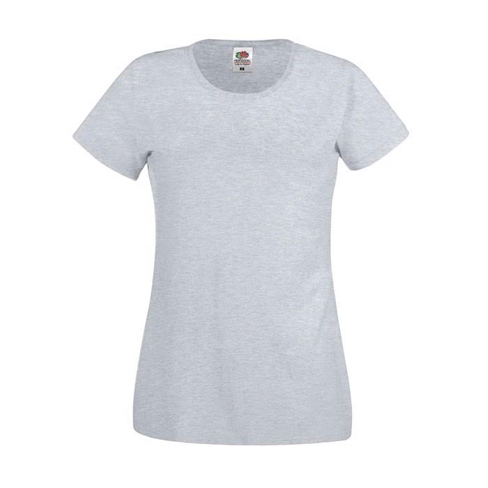 Lady-Fit T-shirt 145 g/m² Lady-Fit Original Tee 61-420-0 - Grey Heather / XL