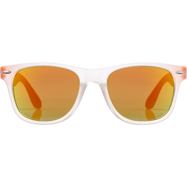 Sluneční brýle California s exkluzivním designem - 0ranžová / Průhledná