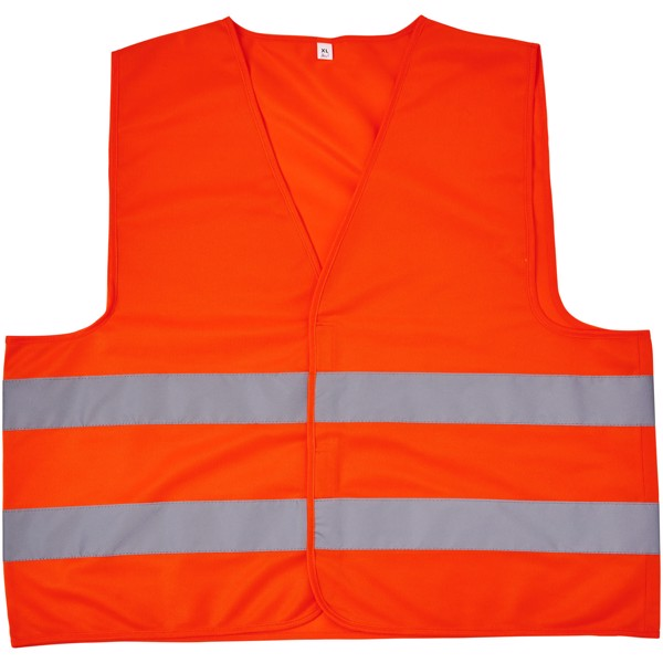 See-me-too XL safety vest for non-professional use - Neon Orange