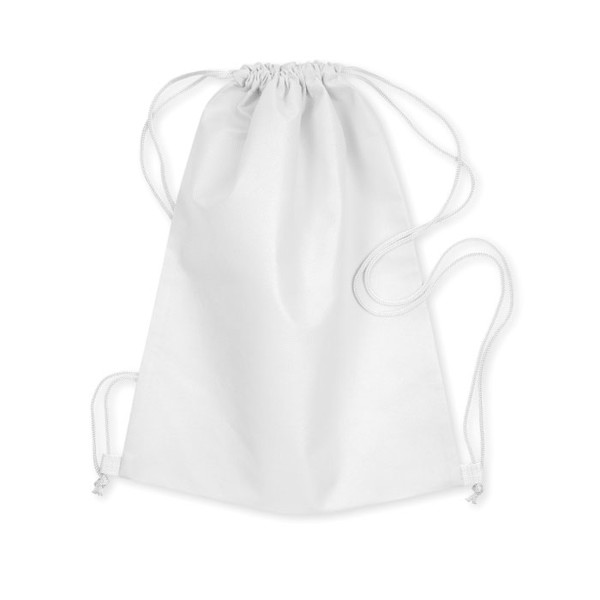 Drawstring bag Daffy - White