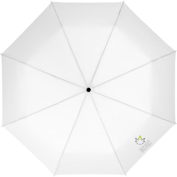 """Paraguas plegable automático de 21"""" """"Wali"""" - Blanco"""