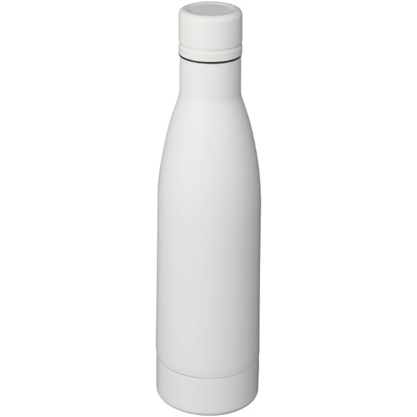 Vasa 500 ml copper vacuum insulated sport bottle - White