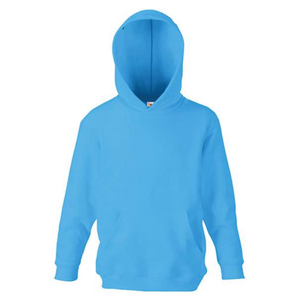 Classic Hooded Kids - Azul Turquesa