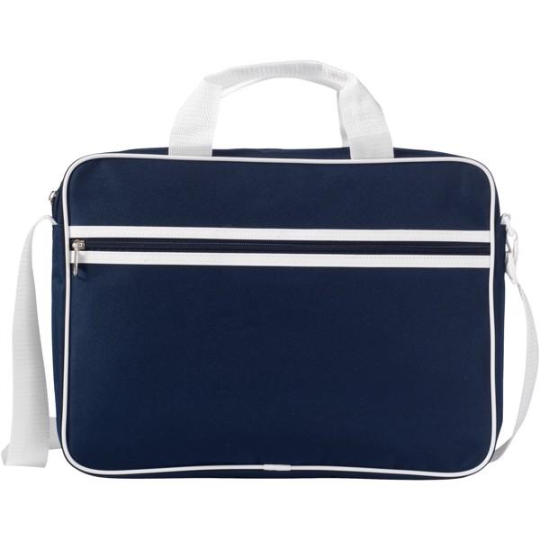 """Konferenční taška Knoxville na notebook 15,6"""" - Navy / Bílá"""