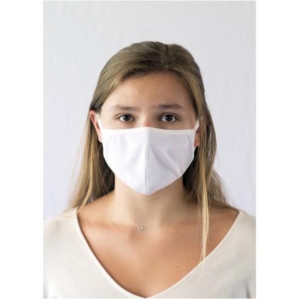 Layton face mask - White