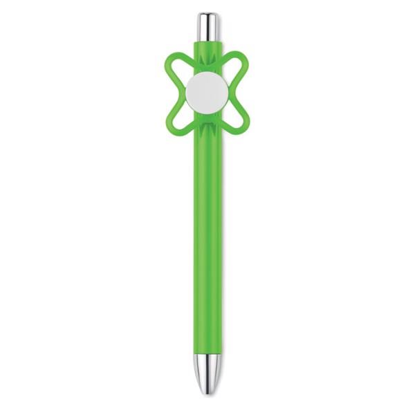 Długopis ze spinnerem Molino - limonka