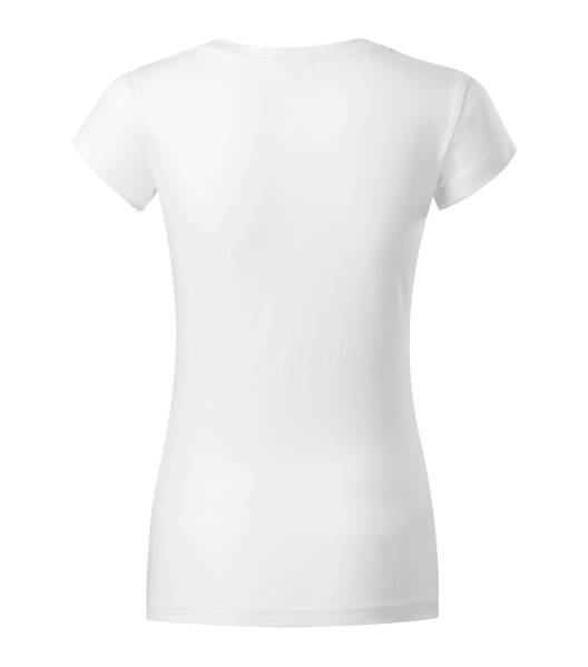 Tričko dámské Malfini Fit V-neck - Bílá / XS