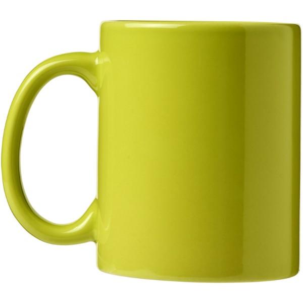 Ceramic Geschenkset mit 4 Bechern - Limone