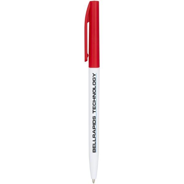 Kuličkové pero Mondriane - Červená s efektem námrazy