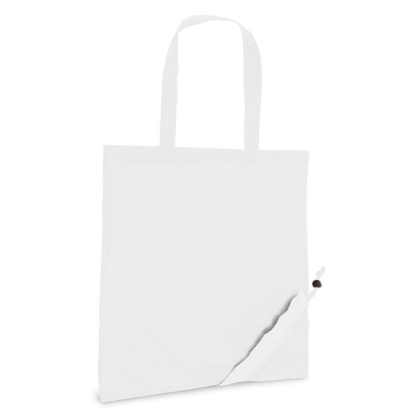 SHOPS. Skládací taška 190T - Bílá