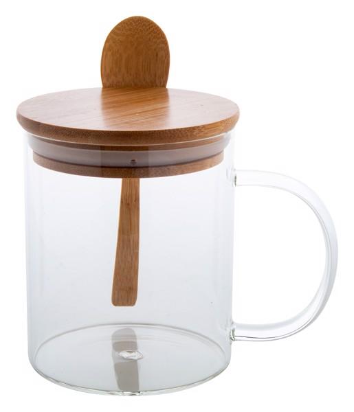 Steklena skodelica Kipal - Natural