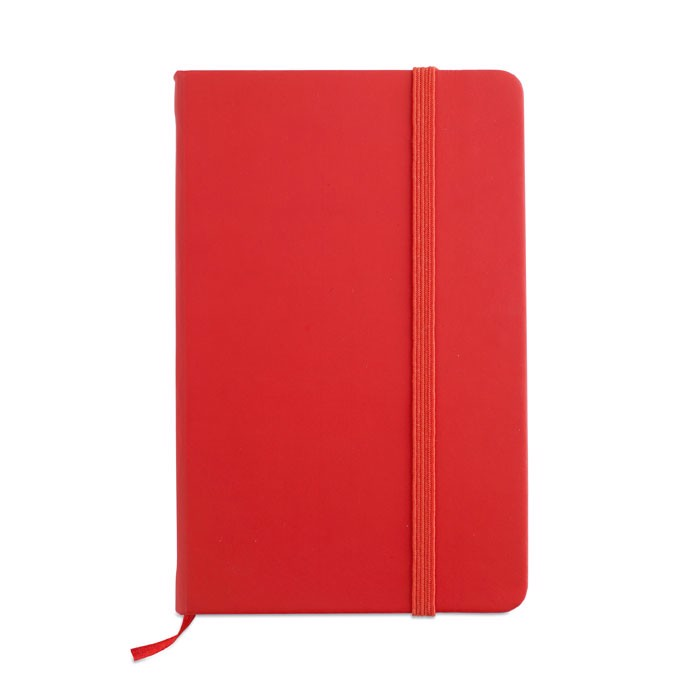 96 pages notebook Notelux - Red