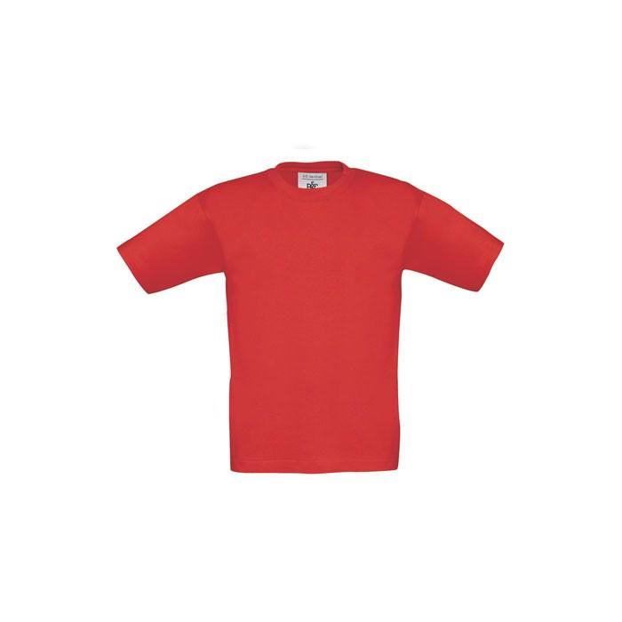 Dětské tričko 185 g/m² Exact 190 Kids Tk301 - Red / L