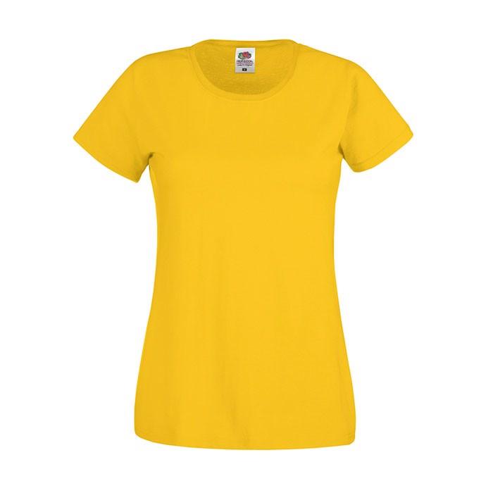Lady-Fit T-shirt 145 g/m² Lady-Fit Original Tee 61-420-0 - Sonnenblumengelb / L