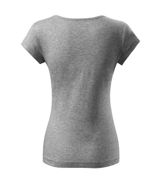 T-shirt women's Malfini Pure - Dark Gray Melange / XL
