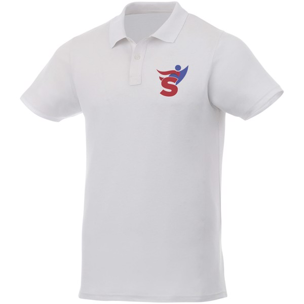 Liberty short sleeve men's polo - White / XL