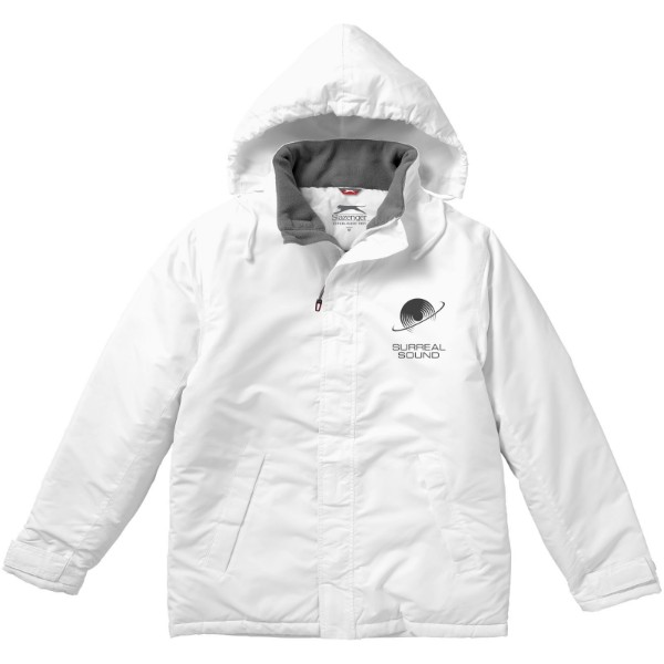 Under Spin insulated jacket - White / M