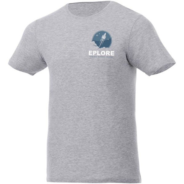 Finney short sleeve T-shirt - Heather grey / L