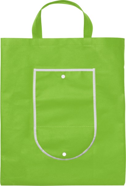 Einkaufstasche 'Wagon' aus Non-Woven - Lime