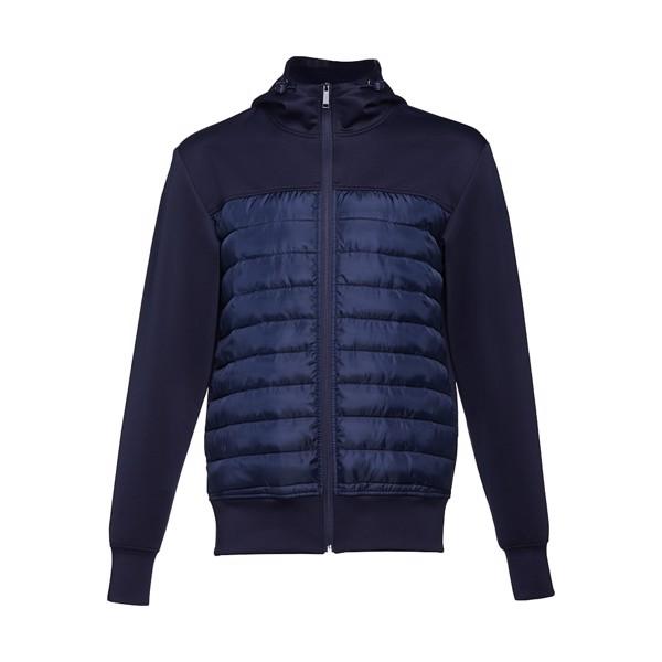 THC SKOPJE. Pánská bunda, s kapucí - Námořnická Modrá / S