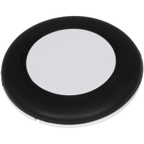 Nebula wireless charging pad with 2-in-1 cable - Solid black