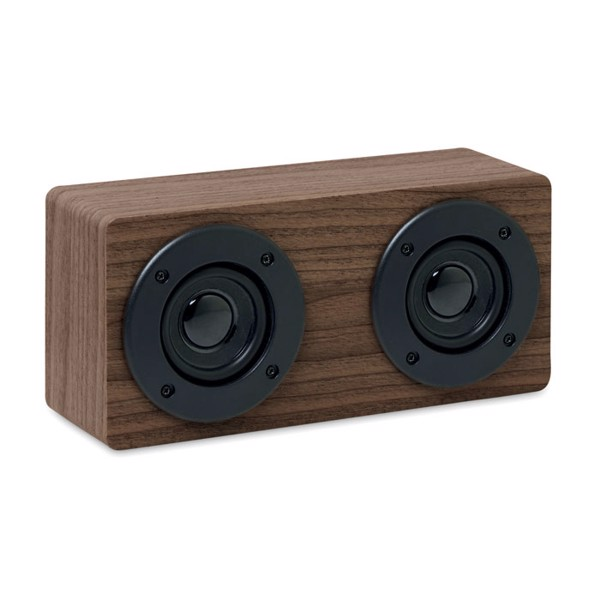 Wireless speaker 2x3W 400 mAh Sonictwo - Brown