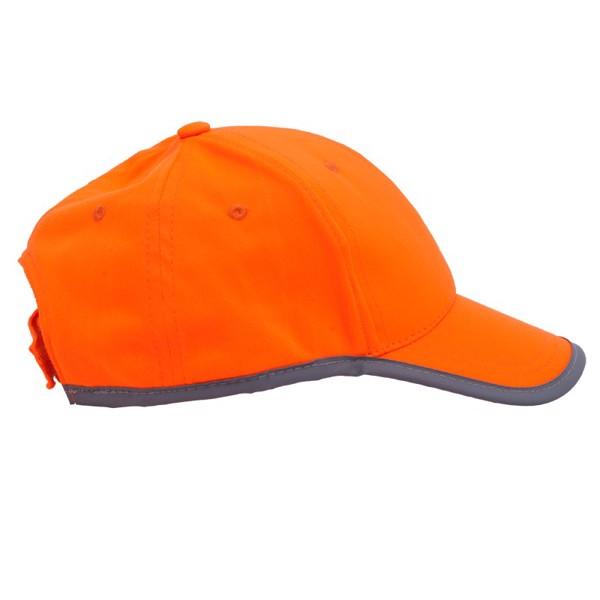 Odblaskowa czapka dziecięca Sportif - Pomarańczowy