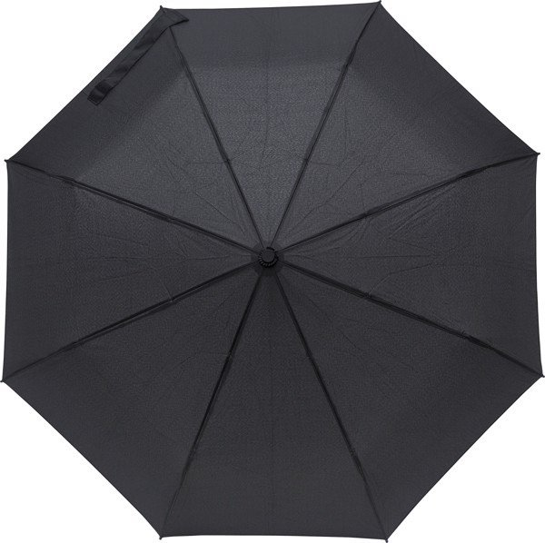 Pongee (190T) umbrella - Black