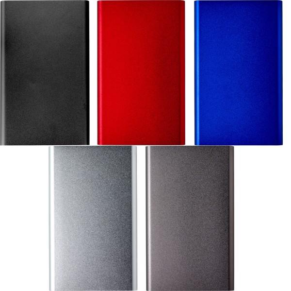 Aluminium power bank - Cobalt Blue