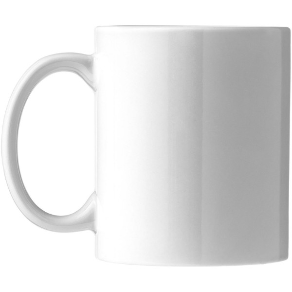 Dárková sada čtyř hrnků Ceramic - Bílá