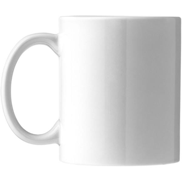 Ceramic mug 4-pieces gift set - White