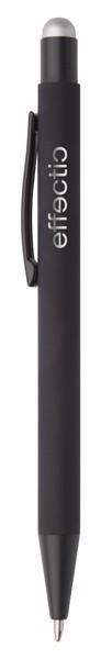 Kuličkové Pero Pearly - Stříbrná / Černá