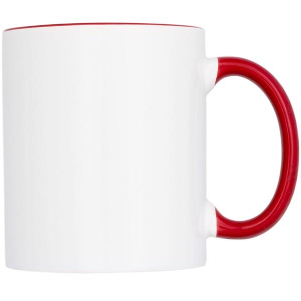Kolorowy kubek sublimacyjny Pix 330 ml - Czerwony