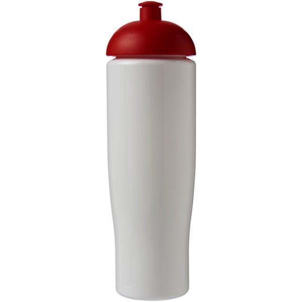 Sportovní láhev s kupolovitým víčkem H2O Tempo® 700 ml - Bílá / Červená s efektem námrazy