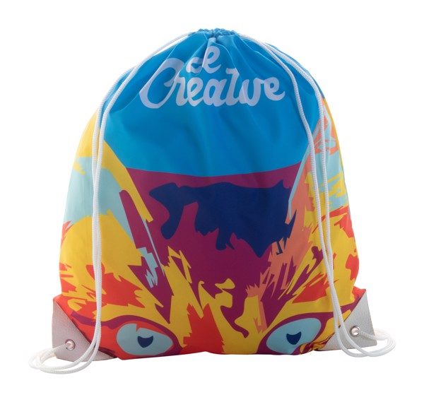 Custom Drawstring Bag CreaDraw Plus - White